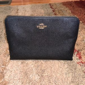 Coach Cosmetic Case Leather